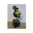 西班牙抽象鳥雕塑+大理石座 y09907 立體雕塑.擺飾 立體雕塑系列-動物雕塑系列