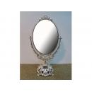 韓國錫雙面鏡子 y13458 時鐘.溫度計.鏡子 鏡子 韓國錫雙面鏡子(銀、金雙色)