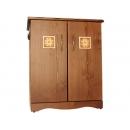 y10025西班牙鄉村風情-紐西蘭雲杉木雙開置物櫃-台灣製造