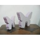 木蝶/一對 y10052 立體雕塑.擺飾 立體擺飾系列-動物、人物系列