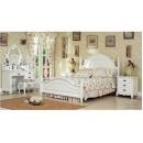 y10120 白色傢俱  維多利亞風格 傢俱 5尺雙人床(床墊另計)