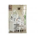 y10121 白色傢俱  維多利亞風格 傢俱   化妝台+化妝椅---無庫存