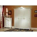 y10124 白色傢俱  維多利亞風格 傢俱  三門衣櫃