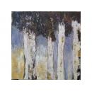 謝美玲-大白千層-y10181-油畫-油畫風景-名家畫作