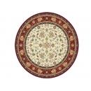 y10254-地毯-比利時圓形絲地毯