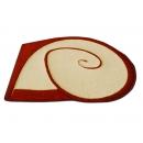 y10675-地毯.壁毯.踏墊-現代地毯-DIMENSION 海灣造型仿羊毛地毯