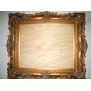 y10692 裝框裱褙相框-雕刻框-實木雕刻空框-2