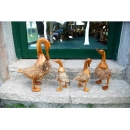 木鴨子擺\飾組(可單賣) y10714 立體雕塑.擺飾 立體擺飾系列-動物、人物系列