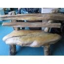 y10798-傢俱系列-創意造型風化傢俱-奇木兩人椅(售出)