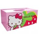 y10821-KITTY凱蒂貓系列-KITTY草苺面紙盒