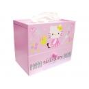 y10822-KITTY凱蒂貓系列-KITTY面紙盒+抽屜(缺貨中)