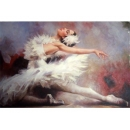 舞蹈題材-天鵝湖-y10833-畫作系列-油畫-油畫人物