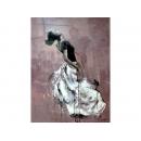 舞蹈題材-舞蹈女孩02-y10837-畫作系列-油畫-油畫人物