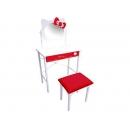 y10864-KITTY凱蒂貓系列-KITTY梳妝台+椅子(KT-0599) 無庫存