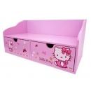 y10866-KITTY凱蒂貓系列-KITTY桌上收納架(KITTY585)無庫存
