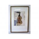 y10900-畫作系列-複製畫-靜物-大提琴