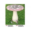 y10991 庭園飾品-桌椅-陶鄉香菇桌