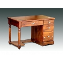 y11041 實木傢俱-手工彩繪書桌.電腦桌(台灣製造)
