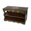 y11042 傢俱系列-穿鞋椅-裂紋玫瑰穿鞋椅(小)