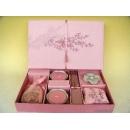 y11049 香氛蠟燭-日式蠟燭禮盒(竹)粉色(共有四色)