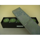 y11051 香氛蠟燭-日式蠟燭禮盒(長盒)綠色(共有四色)