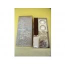 y11052 香氛蠟燭-日式蠟燭禮盒(流水)淺咖啡色(共有四色)