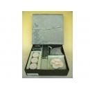 y11054 香氛蠟燭-日式蠟燭禮盒(緣)綠色(共有四色)
