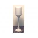 y11056 花器系列-陶瓷高腳杯50cm(台灣製造)