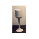 y11705 花器系列-陶瓷高腳杯40cm(台灣製造)