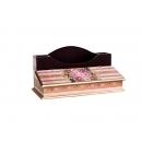 y11077-木製貼圖傢俱-粉紅玫瑰貼圖-2格筆插