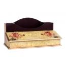 y11081-木製貼圖傢俱-大玫瑰貼圖-2格筆插