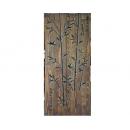 y11105 木刻設計-竹子壁飾