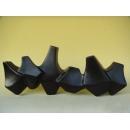 y11128 花器系列-大尖角花器-黑(白)