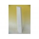 y11140 木製花器-鋼琴烤漆-大斜四方錐花器-白(黑)