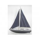 y11153 地中海.鄉村風系列-湖畔假期帆船34cm---無庫存