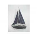 y11154 地中海.鄉村風系列-湖畔假期帆船27cm---無庫存