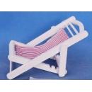 y11155 地中海.鄉村風系列-湖畔假期涼椅手機座紅(藍)