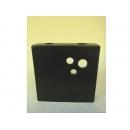 y11228 花器系列-小方型花器-黑(白)
