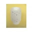 y11229 燭台蠟燭香氛-圓桌燈精油座-白