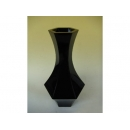 y11248 花器系列-木製花器-小六角古典花器-鋼琴烤漆-黑(白)