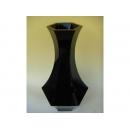 y11249 花器系列- 木製花器-大六角古典花器-鋼琴烤漆-黑(白)