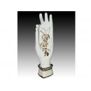 簡歐新磁瓷器-玫瑰之手擺飾件 y11279  立體雕塑.擺飾 立體擺飾系列-其他