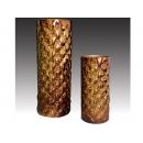 簡歐新磁瓷器-皮飾擺飾件一對 y11282 立體雕塑.擺飾 立體擺飾系列-其他