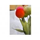 y11319 花藝設計.花材花藝果樹系列-精緻人造花-植絨小彩球
