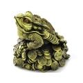 y11323 銅雕系列-動物-蟾蜍元寶