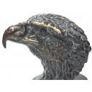 y11335 銅雕系列-動物-大老鷹頭*