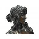 y11340 銅雕系列-人物-卡蜜兒*