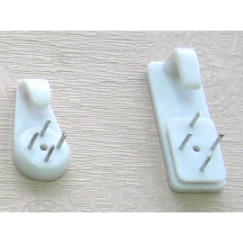 y11406  美術相關材料系列-吊卡式壁釘(大$8 小$4)