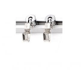 y11411  美術相關材料系列-鋼索掛勾-軌道頭-承重20kg