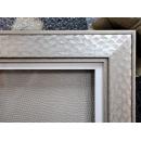 y11434 裝框裱褙相框系列-裱框成品參考-銀框